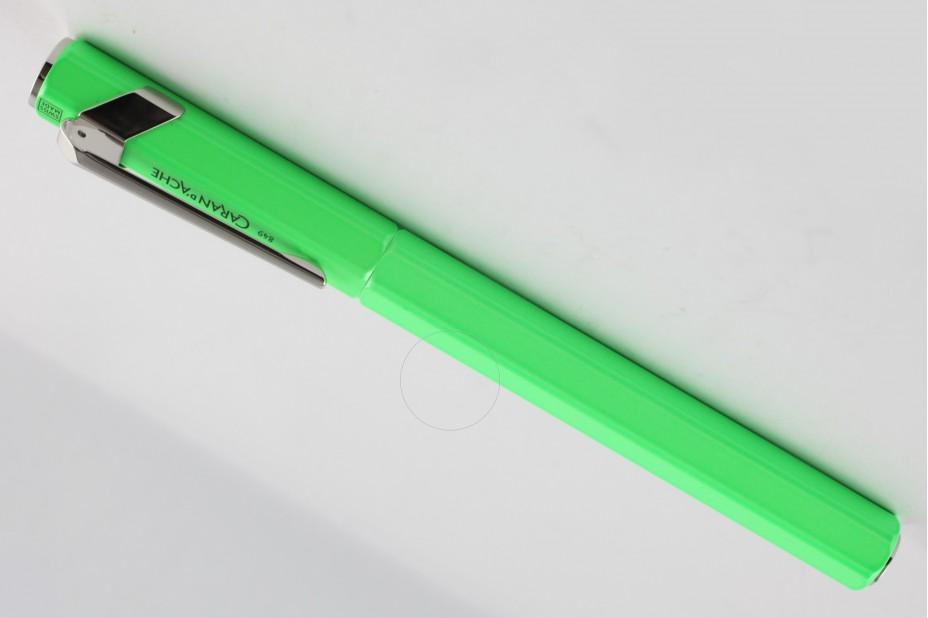 Caran D`Ache   849 Flourescent Yellow Green Fountain Pen