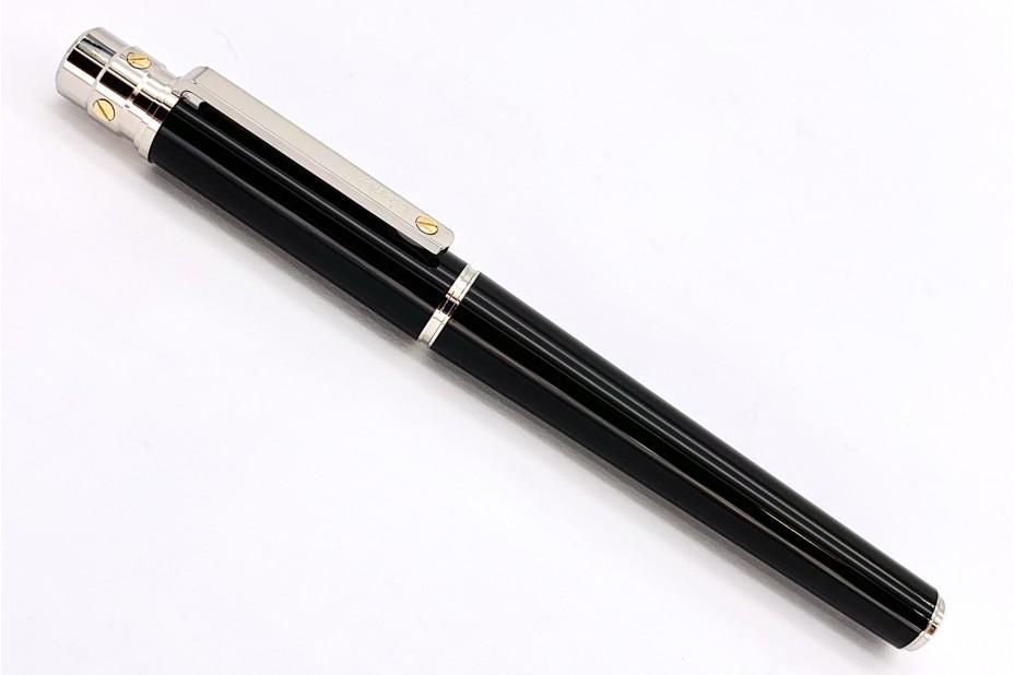 Cartier OP000114 Santos de Cartier Large Composite Palladium and Gold Finishes Roller Pen