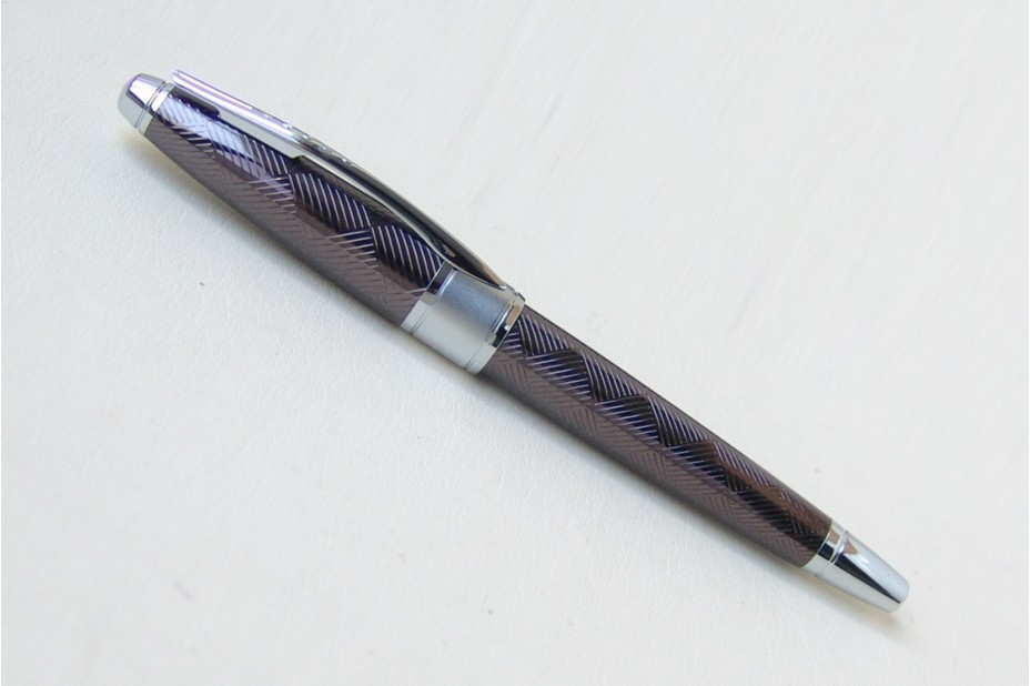 Cross Apogee Sable Herringbone Fountain Pen
