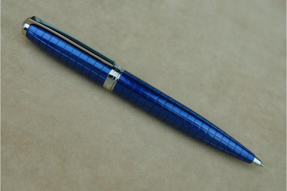 S.T. Dupont Fidelio Square Blue Lacq Ball Pen