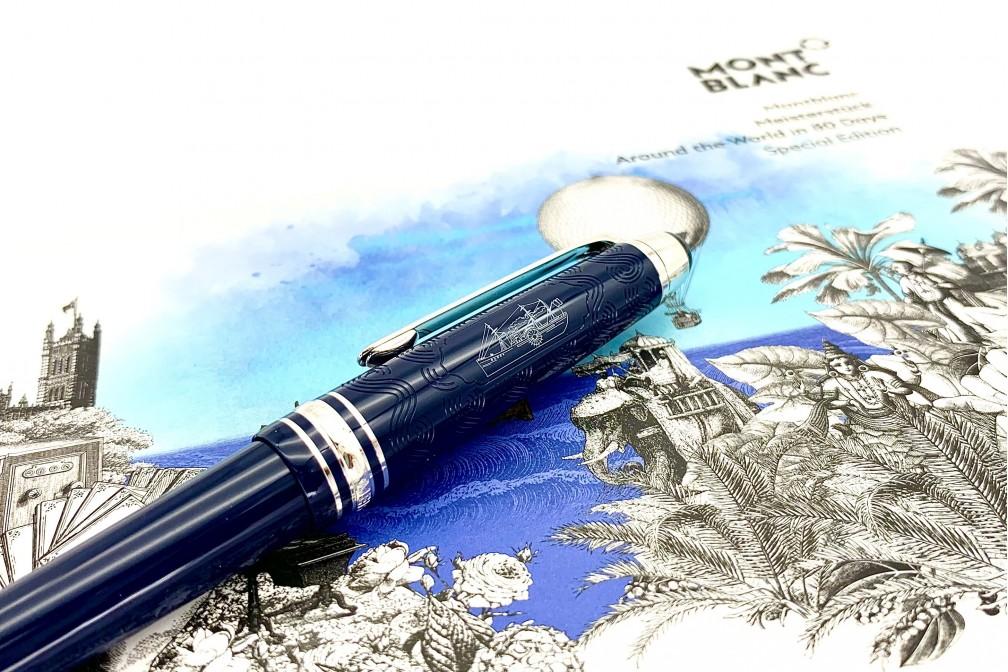 Montblanc 126342 Meisterstuck Around the World in 80 days 164 Ball Pen
