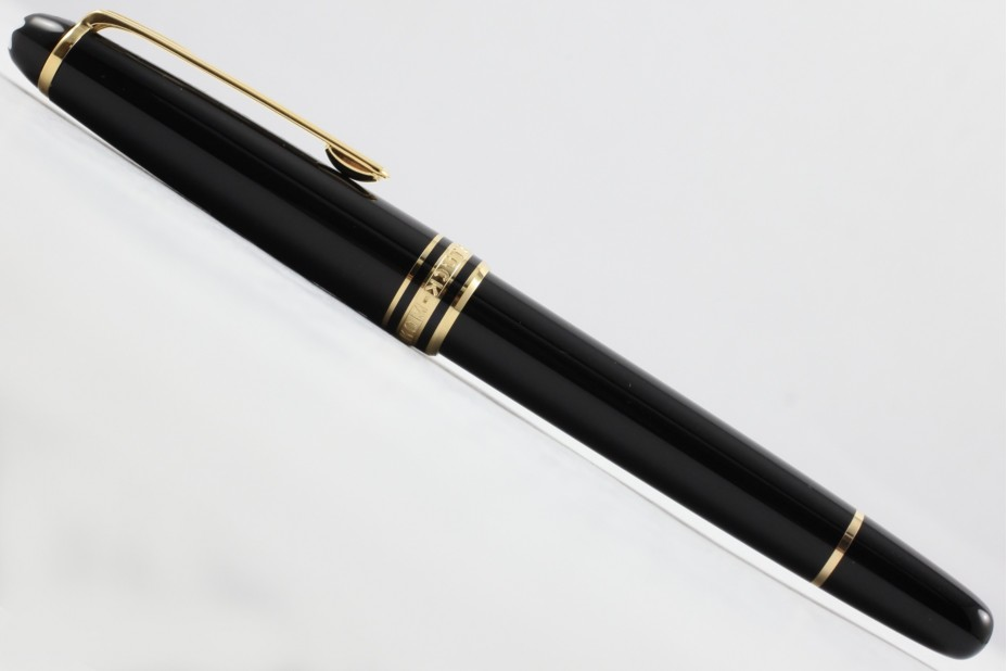 Montblanc MB.12890 Meisterstuck Gold Coated Classique 163 Roller Ball Pen