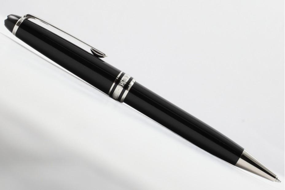 Montblanc MB.2866 Meisterstuck Platinum-Coated Classique 164 Ballpoint Pen