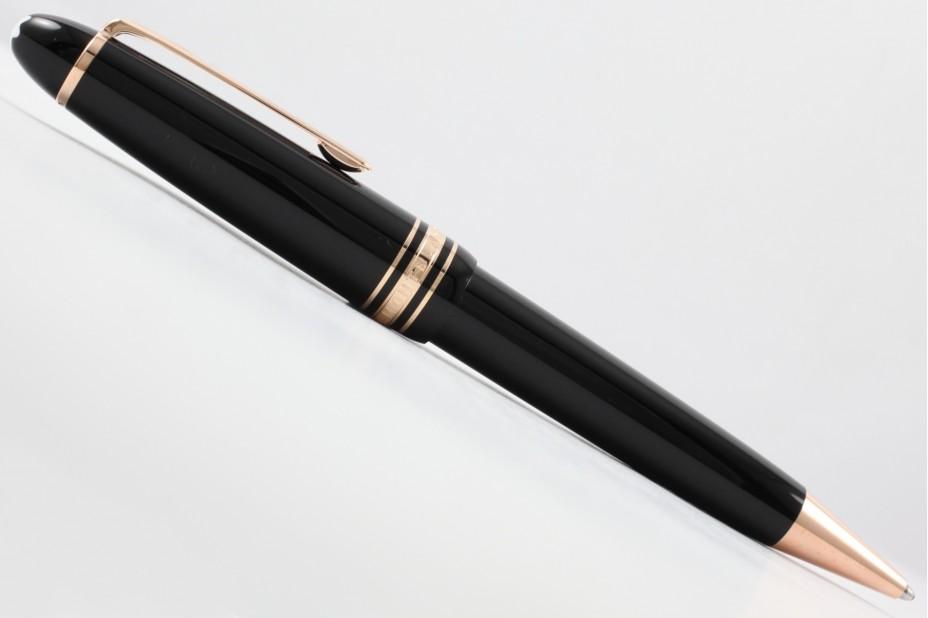 Montblanc Meisterstuck Red Gold-Coated LeGrand 161 Ballpoint Pen