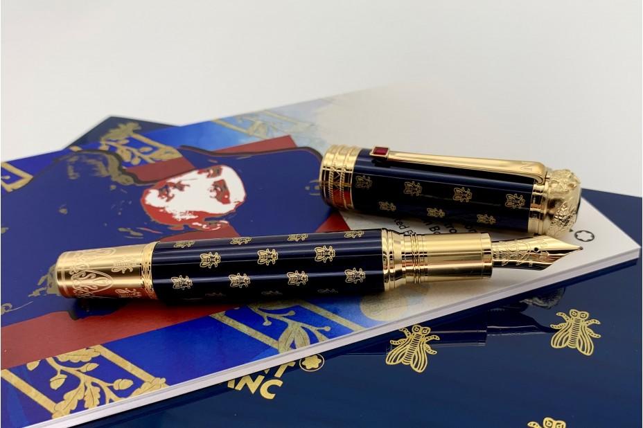 Montblanc Limited Edition 4810 Patron of Art Homage to Napoleon Bonaparte Fountain Pen