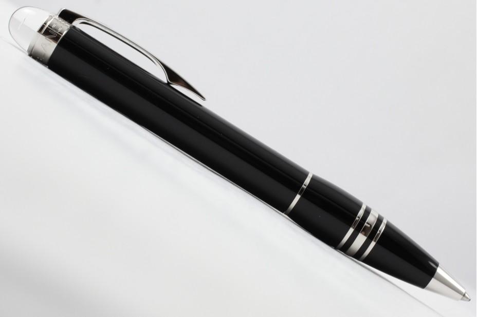 Montblanc Starwalker Platinum Plated Resin Ball Point Pen