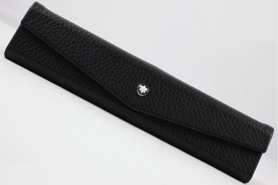 Montblanc MB.116750 Meisterstuck Soft Grain 1 Pen Pouch Foldable Black