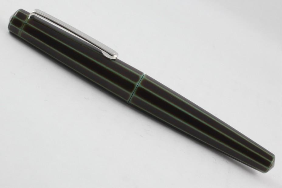 Nakaya Decapod ST Writer Heki Tamenuri Fountain Pen