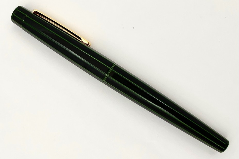 Nakaya Decapod ST Writer Midori-Tamenuri Fountain Pen