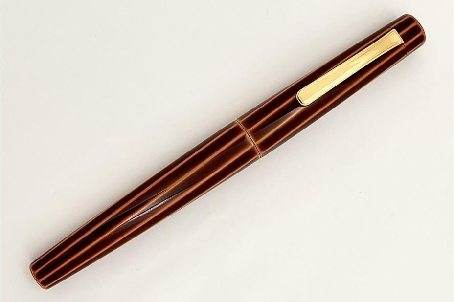 Nakaya Decapod TW Writer Toki Tamenuri Fountain Pen