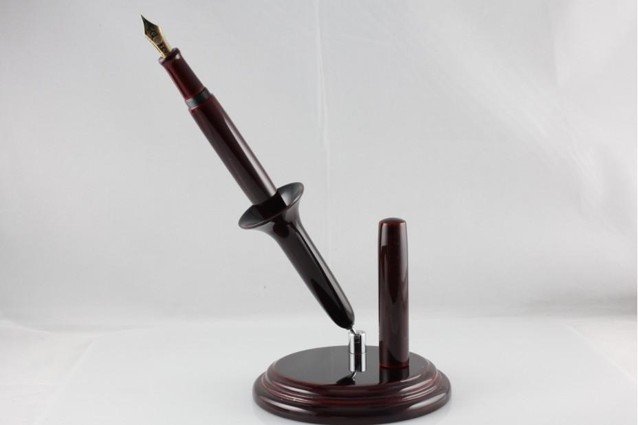 Nakaya Desk Pen Aka Tamenuri Fountain Pen