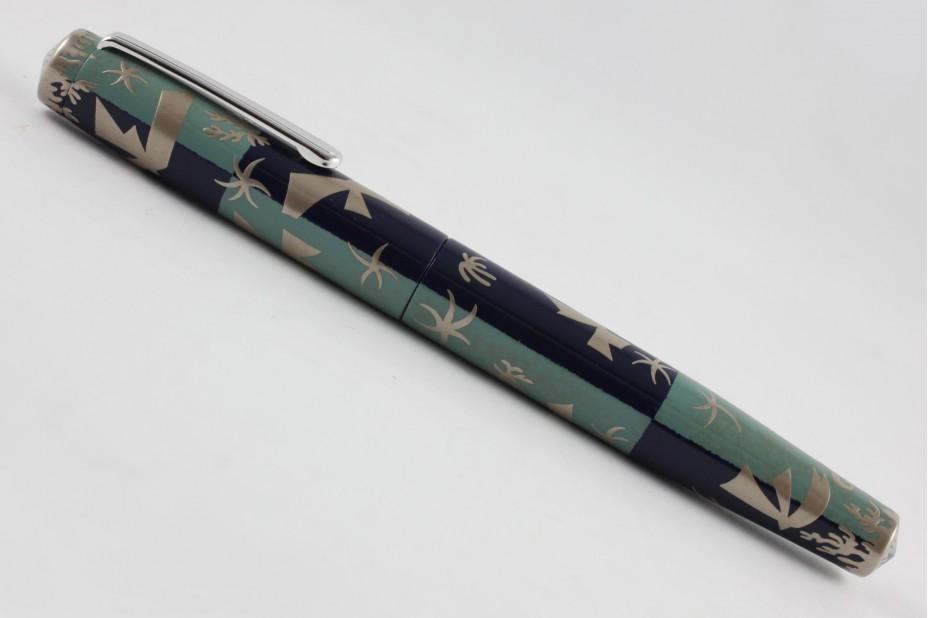 Nakaya Piccolo Long Writer The Sky in Polynesia Fountain Pen