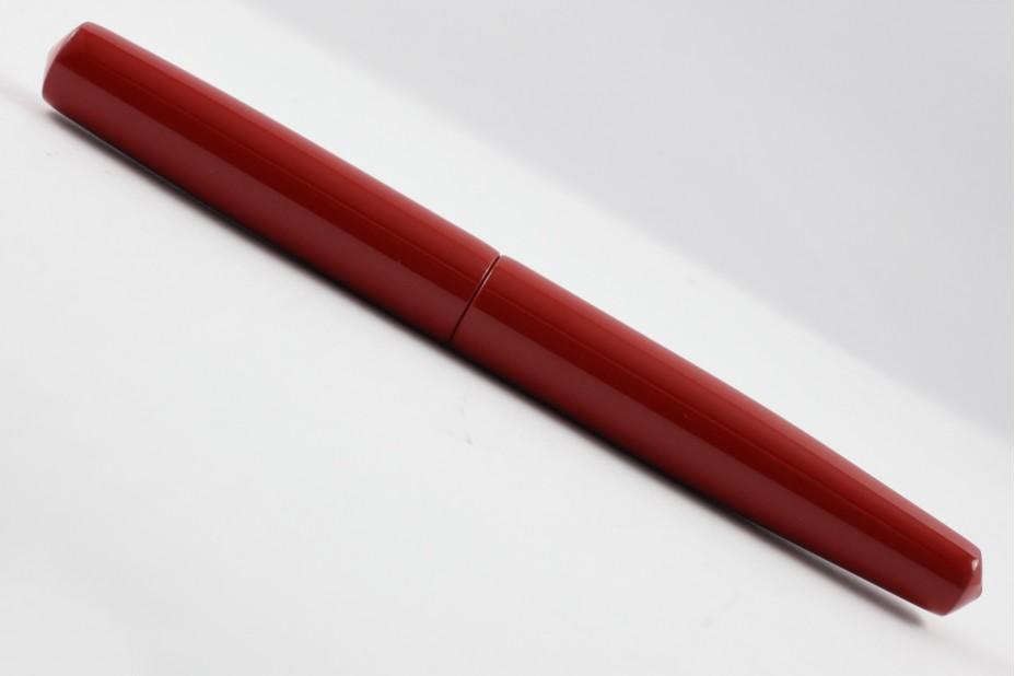 Nakaya Piccolo Long Cigar Shu (Red) Fountain Pen
