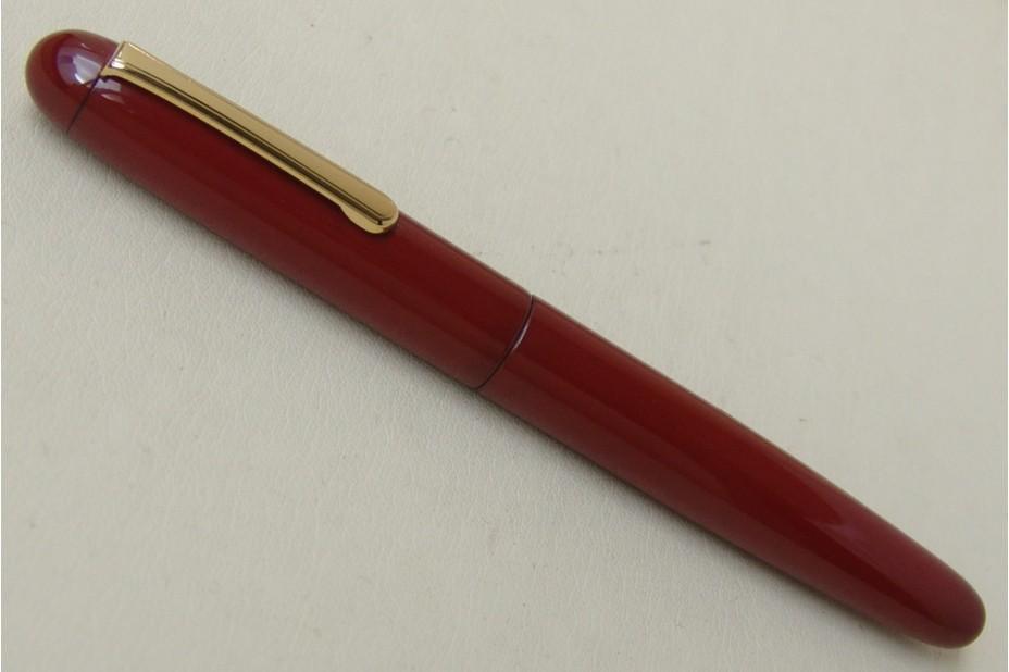 Nakaya Portable Writer Shu(Red)  Fountain Pen