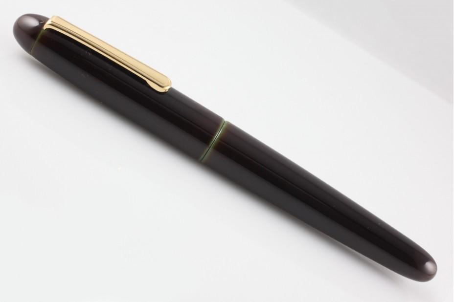 Nakaya Portable Writer Heki Tamenuri Fountain Pen