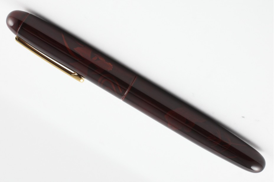 Nakaya Portable Writer Tamesukashi Friendly Gold fishes Fountain Pen