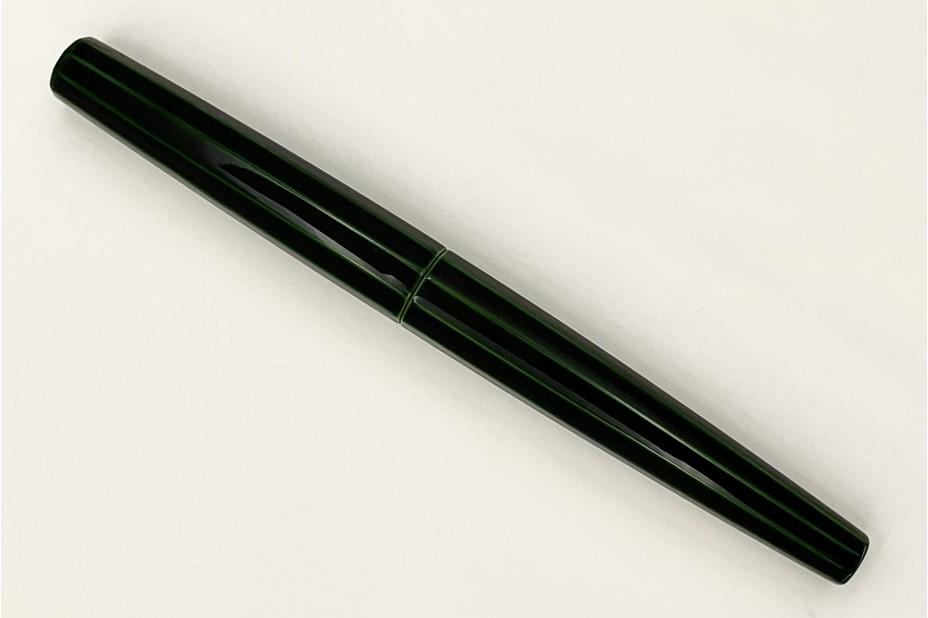 Nakaya Decapod ST Cigar Midori-Tamenuri Fountain Pen