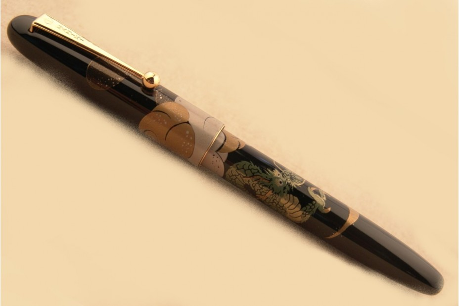 Namiki Nippon Art Dragon with Cumulus Fountain Pen