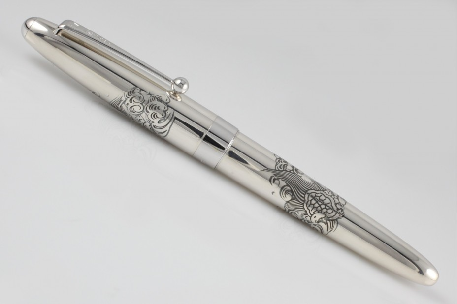 Namiki Sterling Silver Turtle Fountain Pen