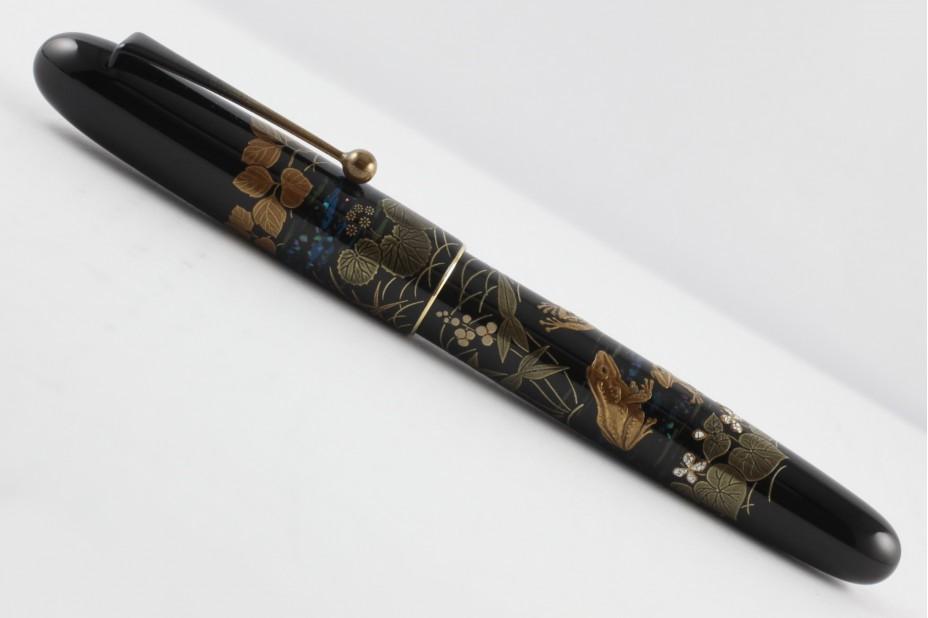Namiki Yukari Royale Maki-e Frog Fountain Pen