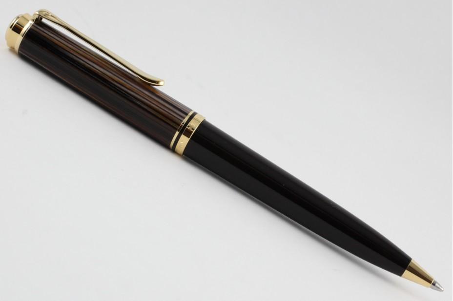 Pelikan Souveran K800 Tortoise Brown Ball Pen