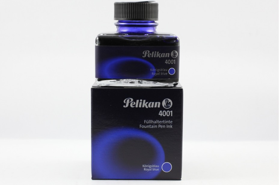 Pelikan Hannover 4001 Black Ink (50ml) with Pen Rest
