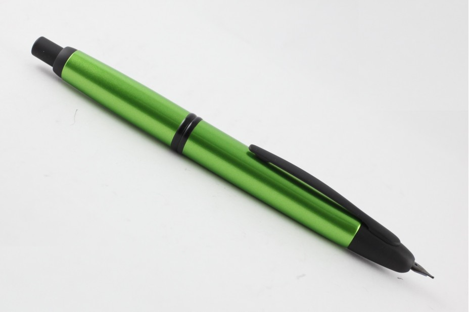 Pilot New Capless Green with Matt Black Fountain Pen