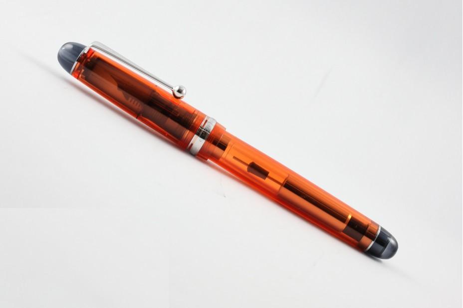 Pilot Custom 74 Transparent Orange Fountain Pen