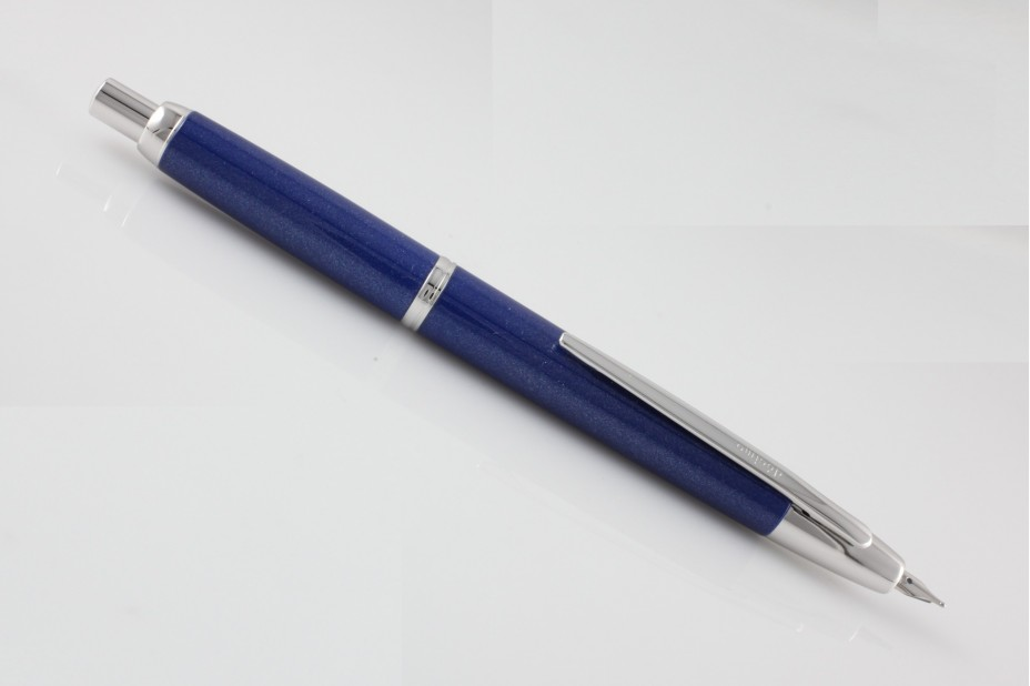 Pilot Decimo Capless Pearl Blue Fountain Pen