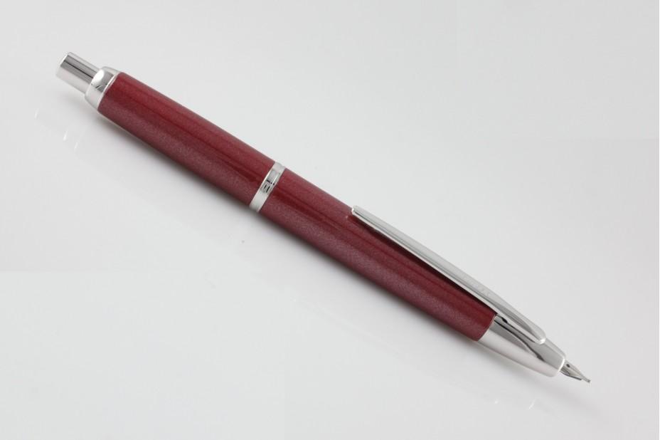 Pilot Decimo Capless Pearl Red Fountain Pen
