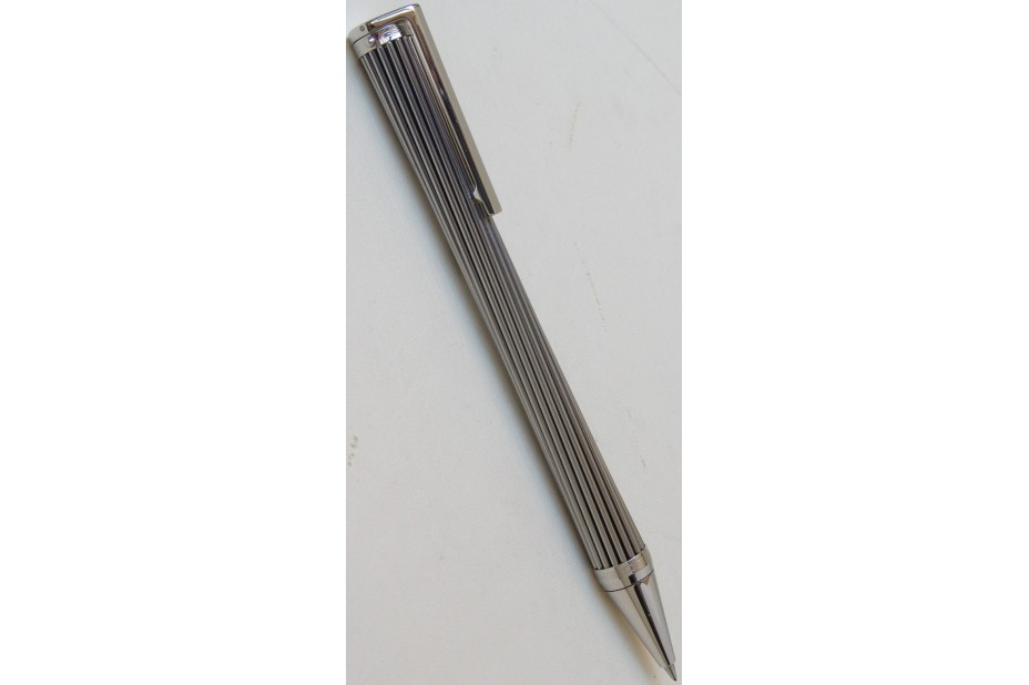 Porsche Design P3130 Mikado Polished Stainless Steel Stems Mechanical Pencil