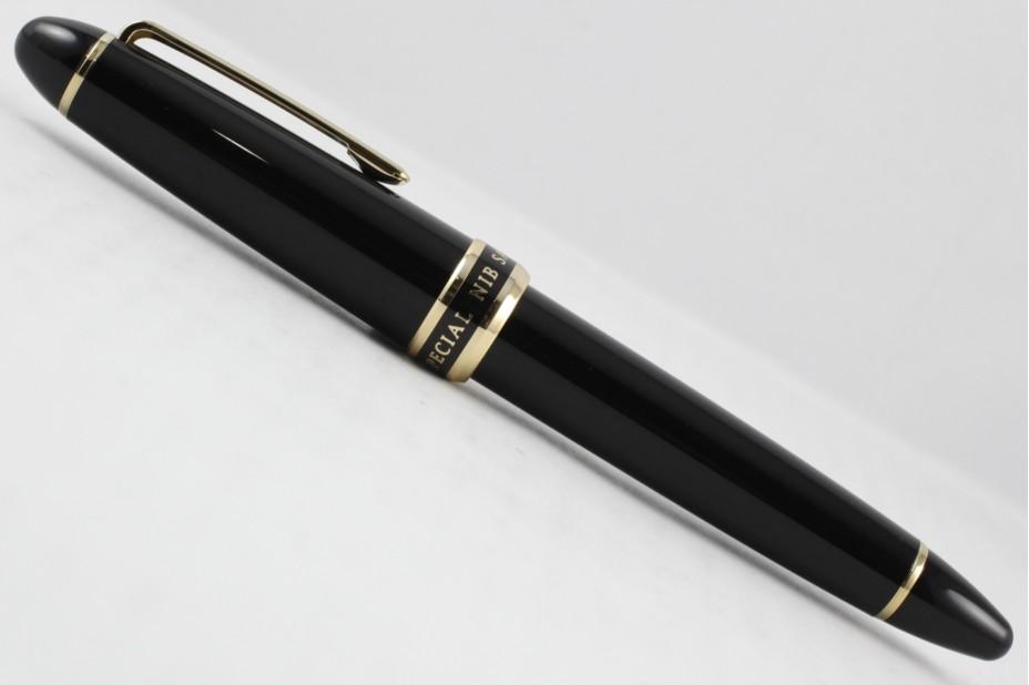 Sailor 1911 Naginata Cross Music Blk Gold Fountain Pen