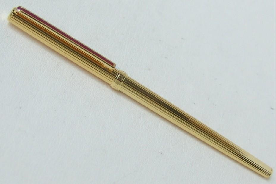 Sailor Chalana Gold Stripe Maroon Fountain Pen