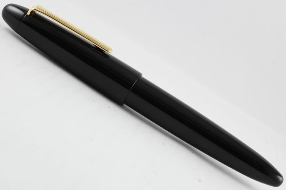 Sailor King of Pens Ebonite Black with Gold Trim Fountain Pen