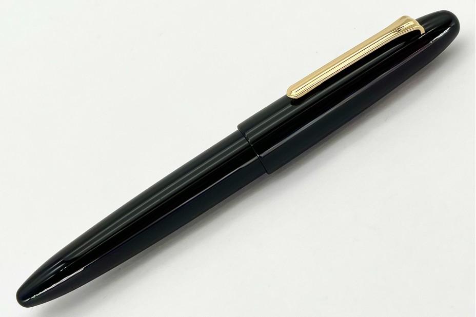Sailor King of Pens Ebonite Black Naginata Togi GT Fountain Pen