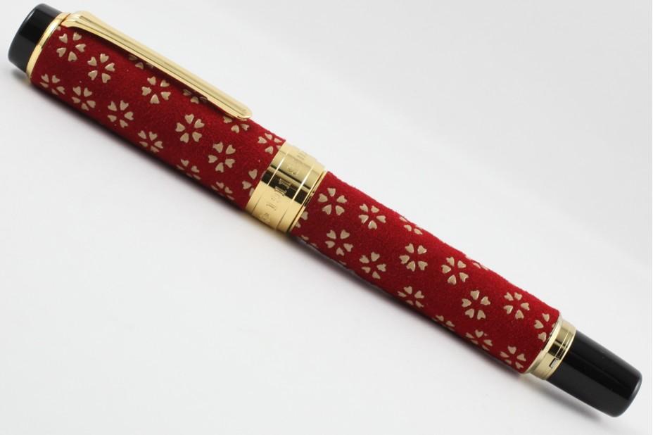 Sailor Koshu Inden Sakura Red Fountain Pen
