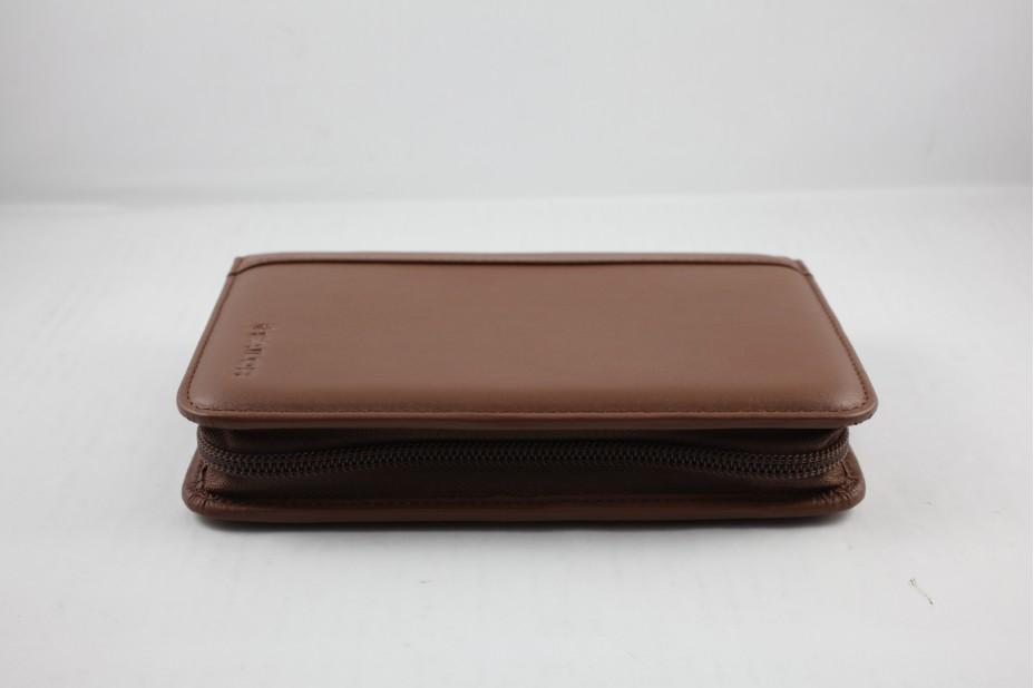 Sailor Leather Pen Case 5 Slot-Brown