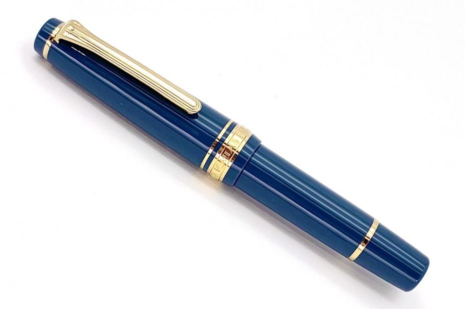 Sailor ProGear Slim Mini Morocco Ayur Blue Fountain Pen