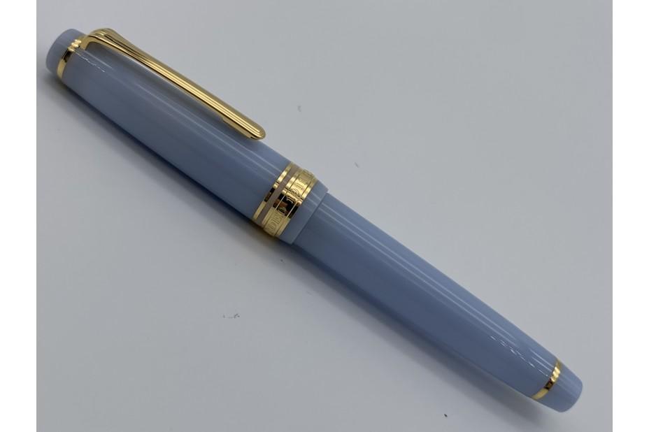 Sailor Pro Gear Slim Shikiori Japanese Fairy Tale Fountain Pen Grateful Crane - Sky Blue