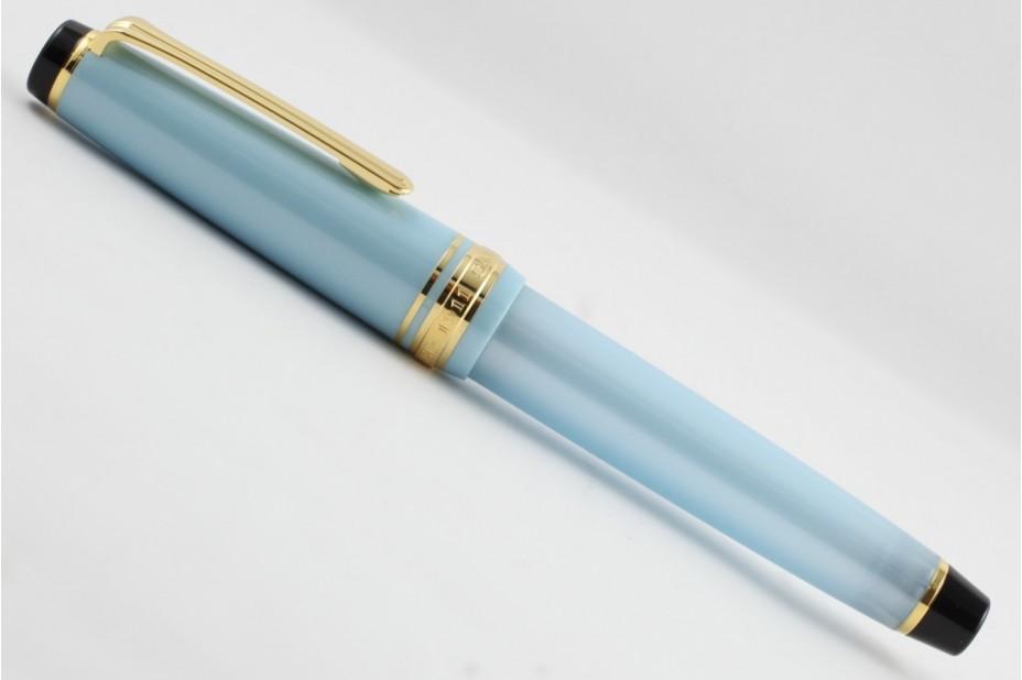 Sailor ProGear Slim Four Seasons Haruzora Sky Blue Fountain Pen