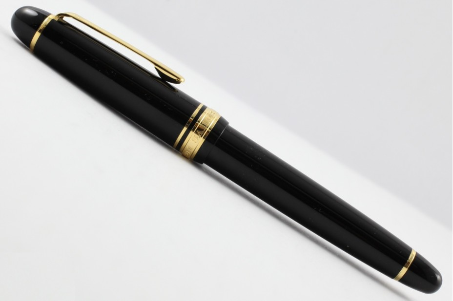 Sailor Promenade Black Gold Trim Fountain Pen