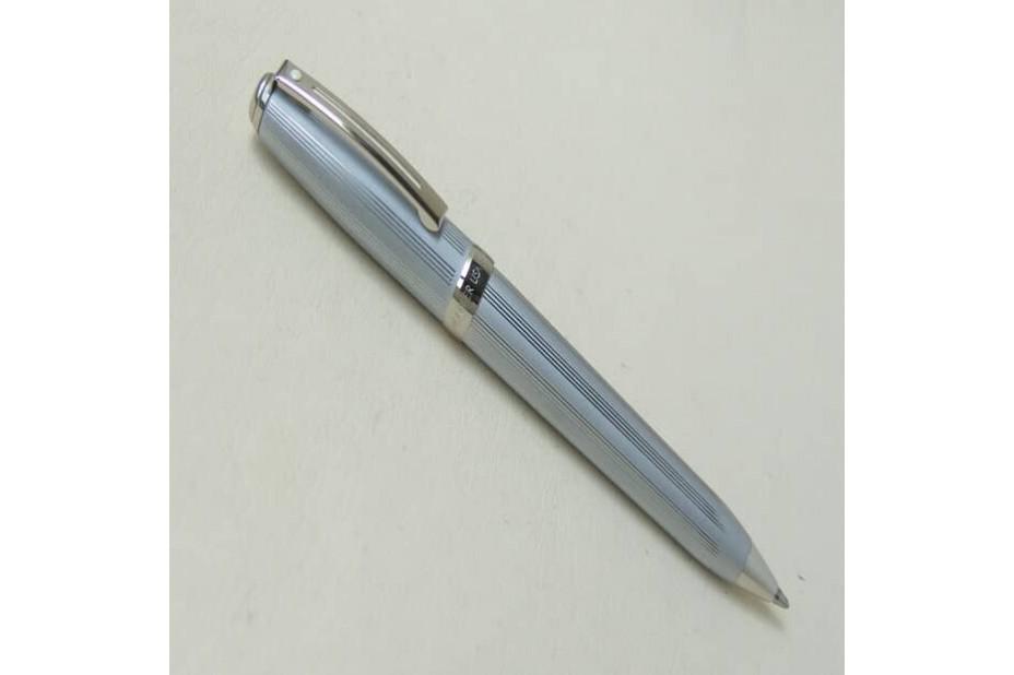 Sheaffer Prelude 370 Satin Chrome Straight Line Ball Pen