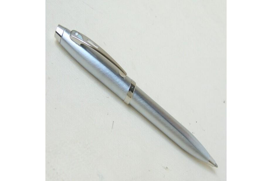 Sheaffer 100 Brushed Chrome Plate Ball Pen