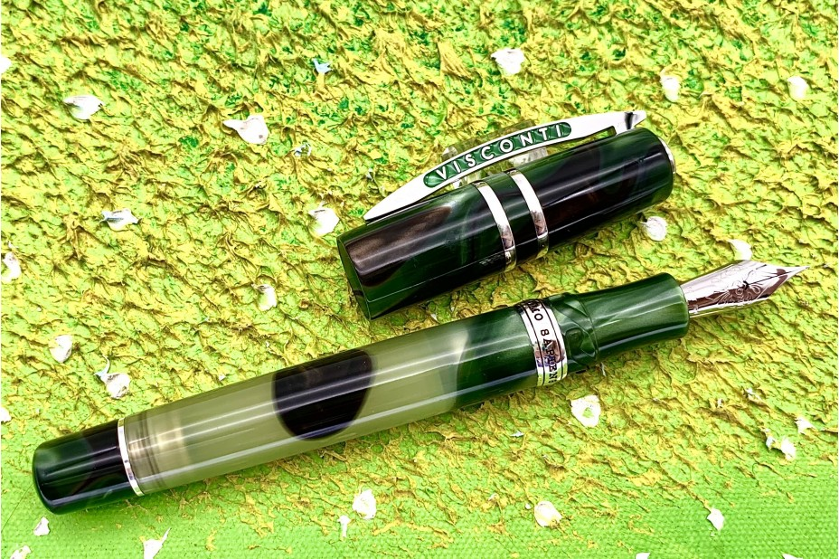 Visconti Limited Edition Homo Sapiens Demonstrator Tuscan Hills Fountain Pen