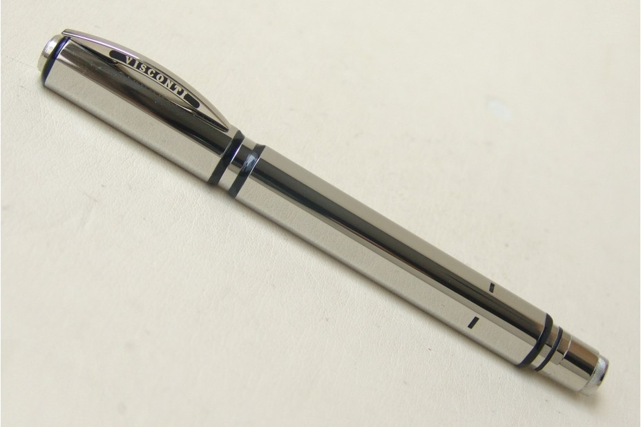 Visconti Metropolis Silver Roller Ball Pen