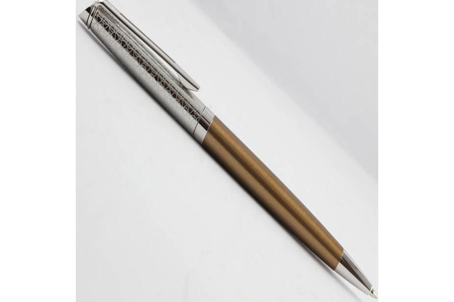 Waterman Hemisphere 16 LUX Bronze Chrome Trim Ball Pen