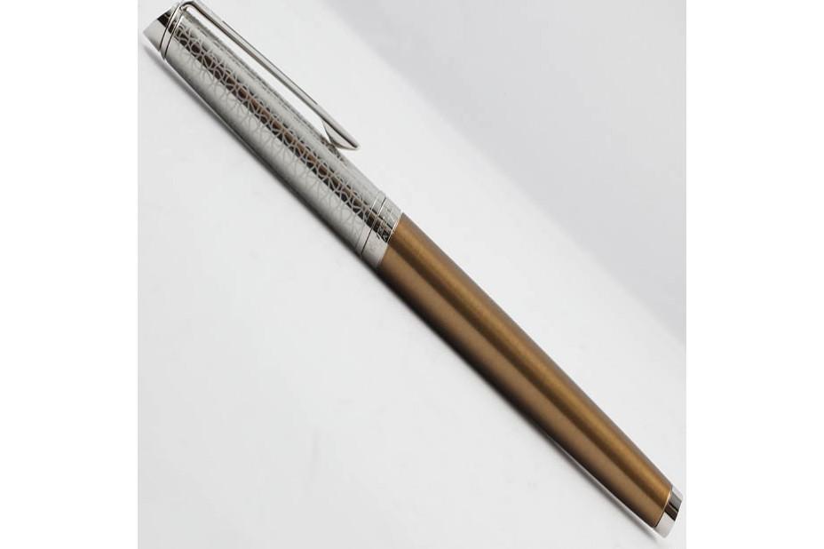 Waterman Hemisphere 16 LUX Bronze Chrome Trim Roller Ball Pen